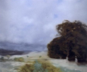 Landscape with Clump of Trees, 1970 (oiloncanvas)