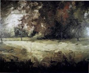 Park Piece, 1971, oiloncanvas