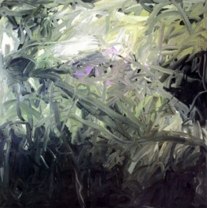 Untitled (Green), 1971, oil